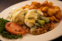 best breakfast eggs benedict early bird restaurant menu