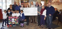 breakfast club canada cheque presentation