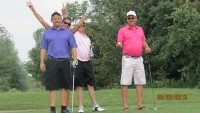 Golf party group