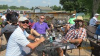 Thumbs up for golf charity tournament