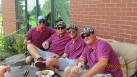 Best dressed golfers breast cancer support