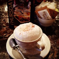 perfect cappuccino coffee break take out or dine in