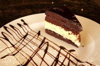 chocolate truffle cheesecake dessert