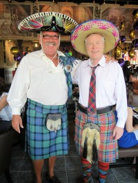 scottish kilts restaurant opening fun mexican style