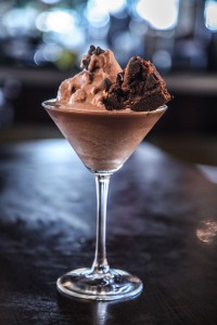 frozen martini chocolate brownie ancaster bar menu