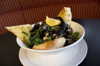 mussels florentine appetizer for sharing ancaster ontario