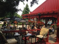 beautiful outdoor restaurant patio guelph ontario