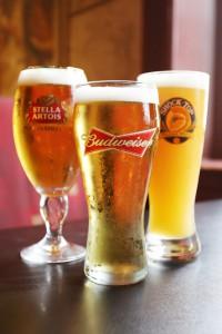 stella artois budweiser shocktop draught beer London restaurant