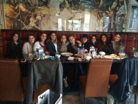 large party students dining London Ontario
