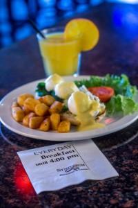 best breakfast menu 4 pm daily