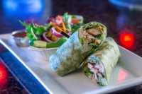 grilled vegetable wrap restaurant menu options