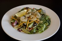shrimp salad restaurant meal mississauga
