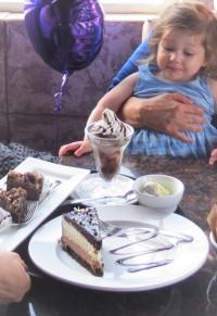 birthday celebration at stouffville restaurant