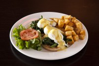best brunch restaurants eggs florentine ajax ontario symposium cafe