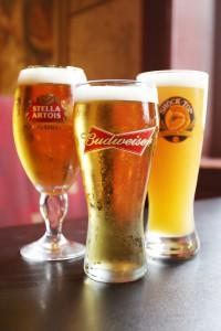 pints of draft beer ancaster hamilton ontario symposium cafe