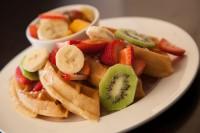 best breakfast waffles and fresh fruit breakfast london ontario symposium