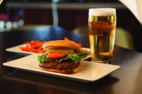 mondays burger and draft beer specials georgetown ontario symposium cafe