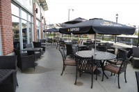cambridge ontario symposium cafe exterior facade patio