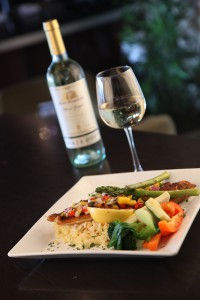 friday seafood special dinner and wine brantford ontario symposium cafe