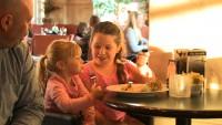 symposium cafe brantford ontario family sharing dessert