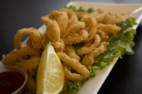 bolton caledon ontario calamari appetizer plate oakville ontario symposium cafe