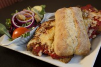 chicken parmesan sandwich mississauga ontario symposium cafe