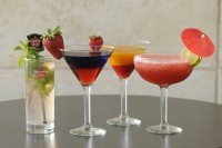 collage of specialty cocktails milton ontario symposium cafe