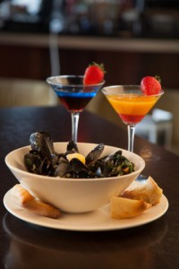 mussels and martinis milton ontario symposium cafe