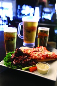 saturdays appetizer and pitcher of draft specials milton ontario