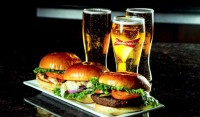 monday restaurant special   beers & burgers & sandwiches