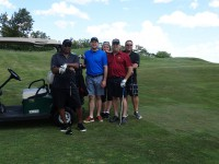 cool looking golfers