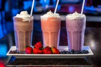milkshakes fruit chocolate