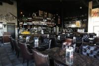 woodbridge symposium cafe restaurant lounge rich leather interiors dessert showcase licensed bar