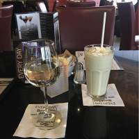 wine & milkshake delicious drinks