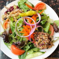 quinoa salad symposium cafe