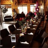 large party restaurant celebration milton