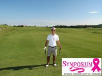 golfer on milton course