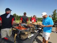 golf lunch