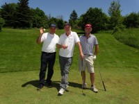 golfing trio