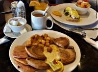 breakfast brunch eggs benedict peameal bacon aurora restaurant