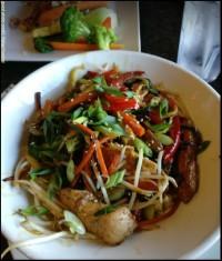 chicken teriyaki restaurant dinner menu