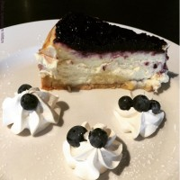 best blueberry cheesecake dessert menu