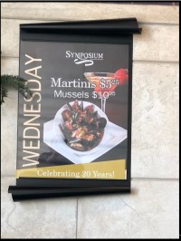 restaurant wednesday dining features mussels martinis   copy
