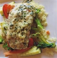 salmon dinner menu restaurant pesto   copy