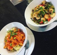 rice  pasta bowls tuesday special feature