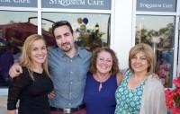 family restaurant celebration birthday