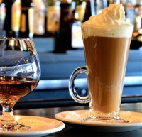 specialty coffee liqueurs restaurant late night