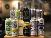 alcohol takeout delivery white claw beer cider ajax restaurant