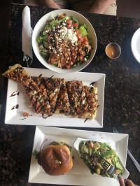 date night in aurora cobb salad bruschetta burger markham