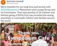 world vision charity symposium cafe oakville